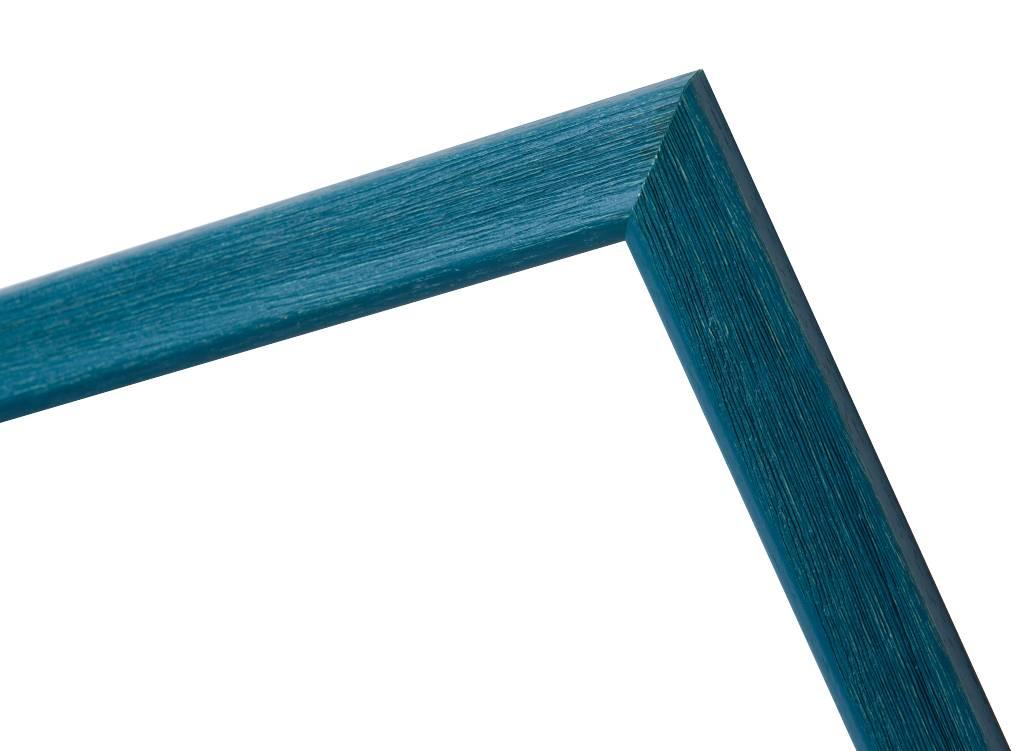 Lille - schmaler blauer Bilderrahmen