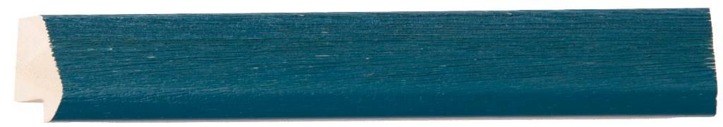 Lille - Spiegel mit schmalem blauen Rahmen