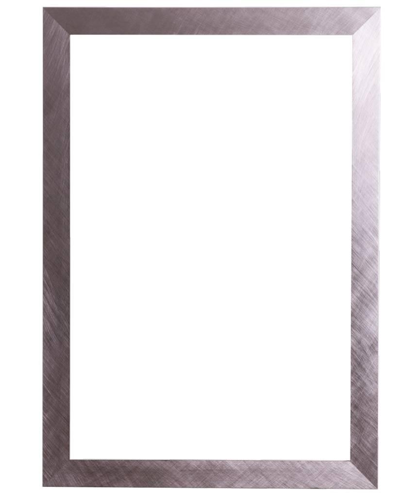Ormea - moderner Rahmen (sieht aus wie Edelstahl)