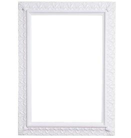 Padua - weißer Barock-Rahmen