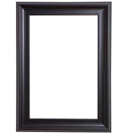 Foggia - moderner schwarzer Rahmen