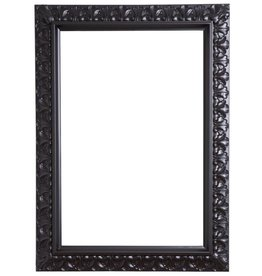 Padua - schwarzer Barock-Rahmen