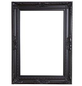 Nice - schwarzer Barock-Rahmen mit Ornament