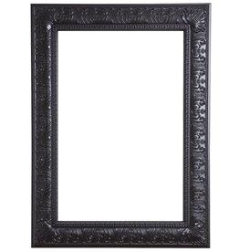 Marbella - schwarzer Barock-Rahmen