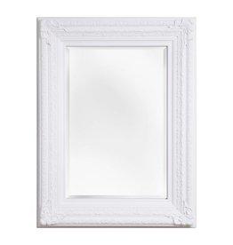 Frejus - Spiegel mit weißem Barock-Rahmen