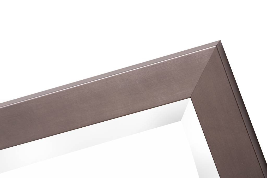 Barletta-Spiegel mit modernem Edelstahlrahmen