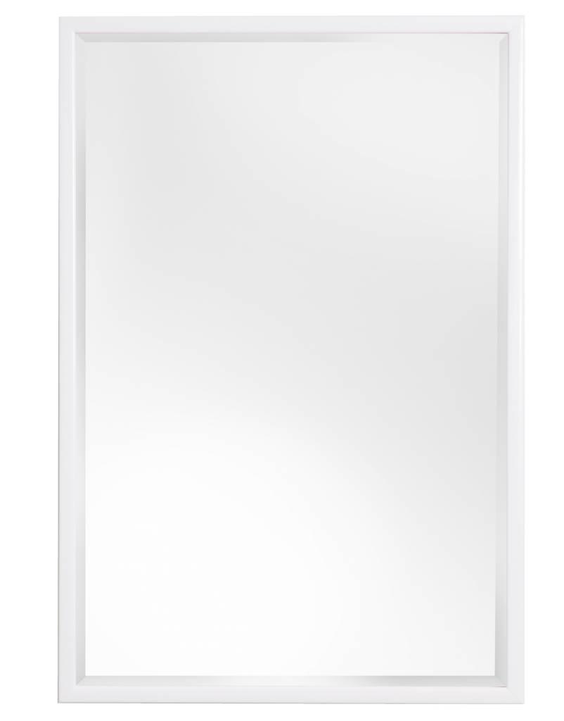 Levie - Spiegel mit schmalem weißen Rahmen