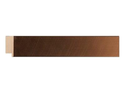 Gebürsteter bronzener Rahmen
