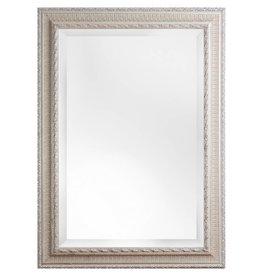 Nyons - Spiegel mit silbernem Barock-Rahmen mit Ornament