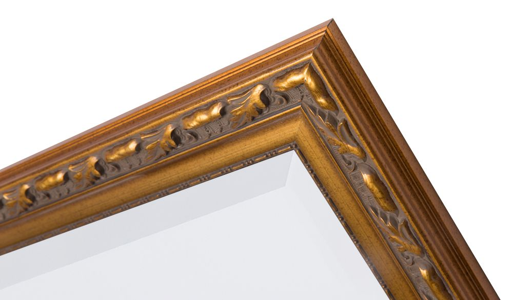Bonalino-Barockspiegel mit Goldrahmen