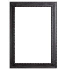 Nyons - schwarzer Barock-Rahmen aus Holz