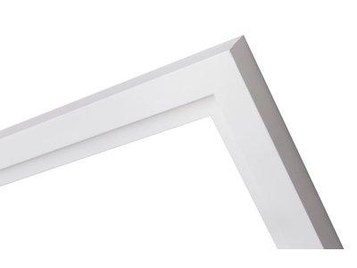 Pisa stilvoller breiter weißer Schattenfugenrahmen