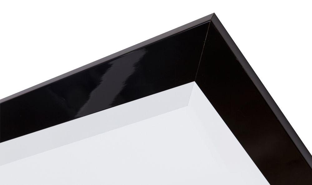 Torino - moderner glänzender schwarzer Spiegel