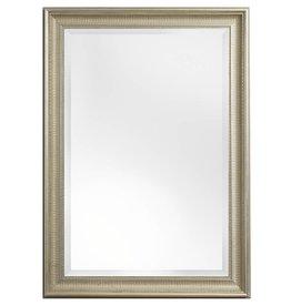 Sicilia - Italienischer Spiegel mit silbernem Rahmen