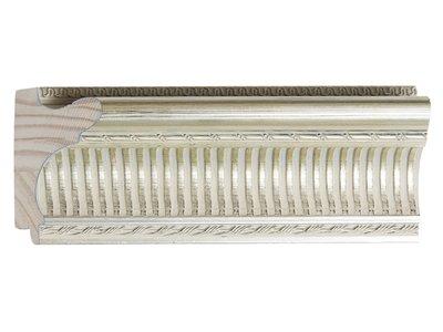 Sicilia - eleganter silberner Rahmen aus Holz