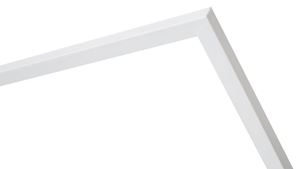 Cosenza - schmaler weißer Holz-Bilderrahmen