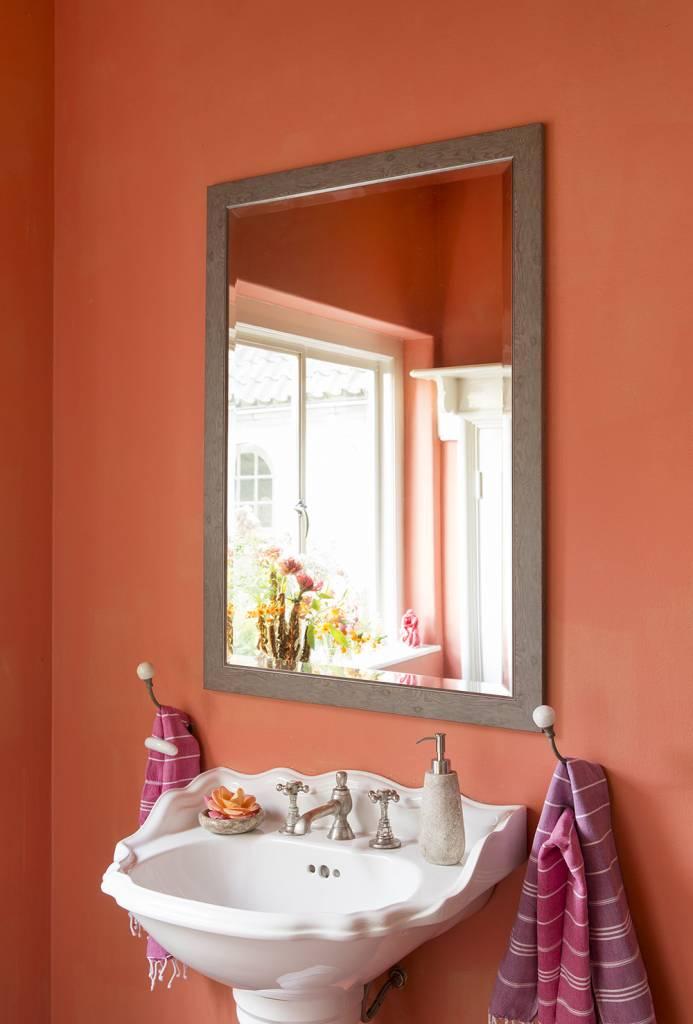 Rimini Grande (mit Spiegel) - Hellbraun