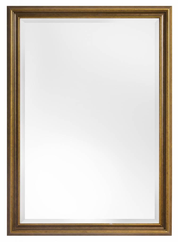 Perla Asti - Spiegel mit goldenem Holzrahmen