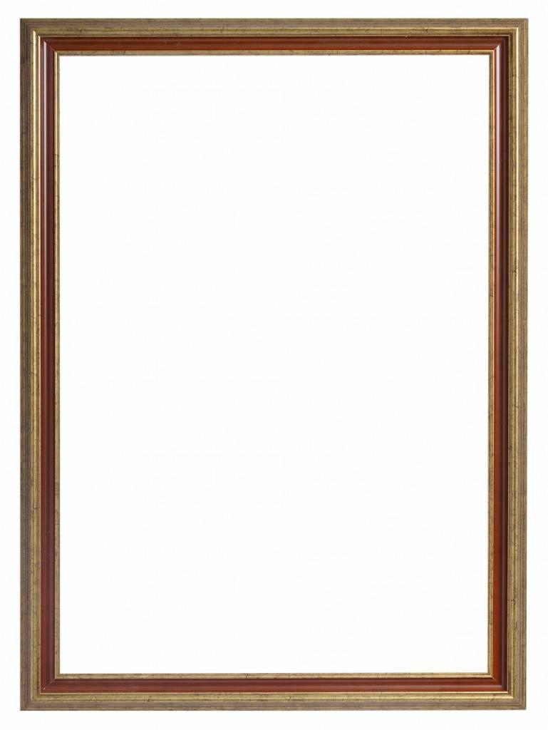 Loano - fabelhafter goldorangener Rahmen