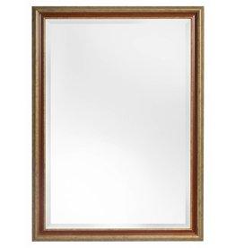 Loano - Spiegel mit fabelhaftem goldorangenem Rahmen