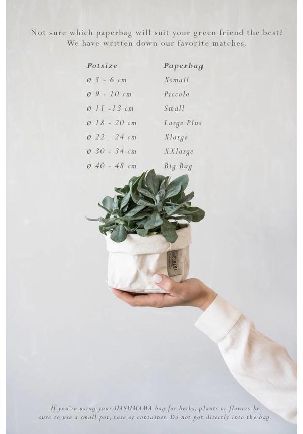 Paper Bag Modern Print Gray / Silver