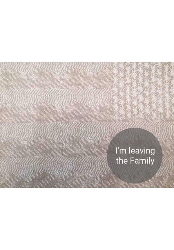 Paper Bag Modern Print Gray / White