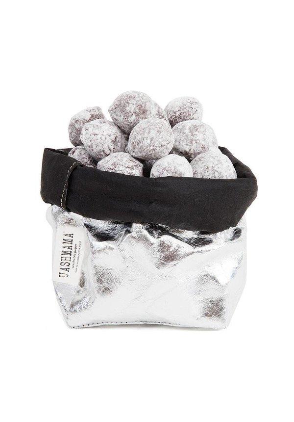 Paper Bag Silver / Black