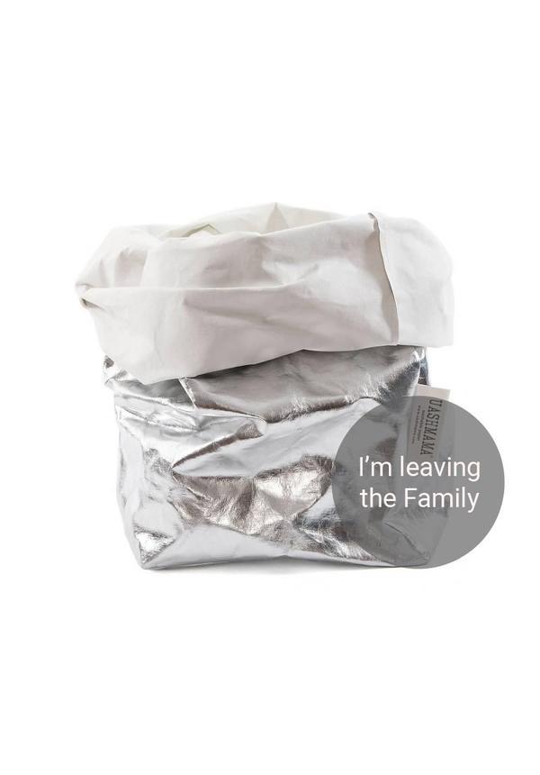 Argent Paper Bag / Blanc