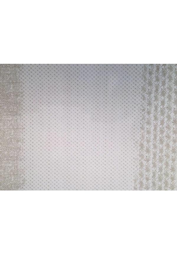 Placemat Modern Print Grey/White