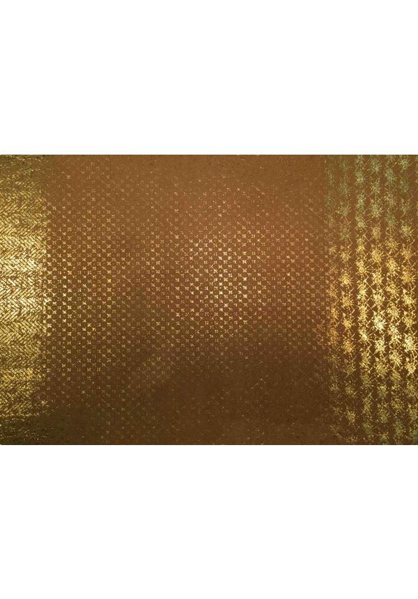 Placemat Modern Print Naturel/Gold