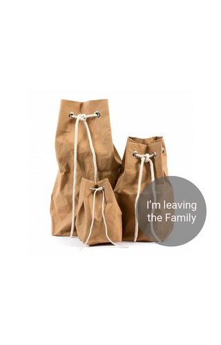 UASHMAMA® Vela Bag Naturel