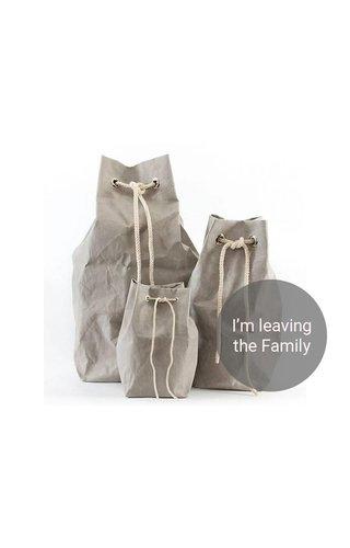 UASHMAMA® Vela Bag Grey