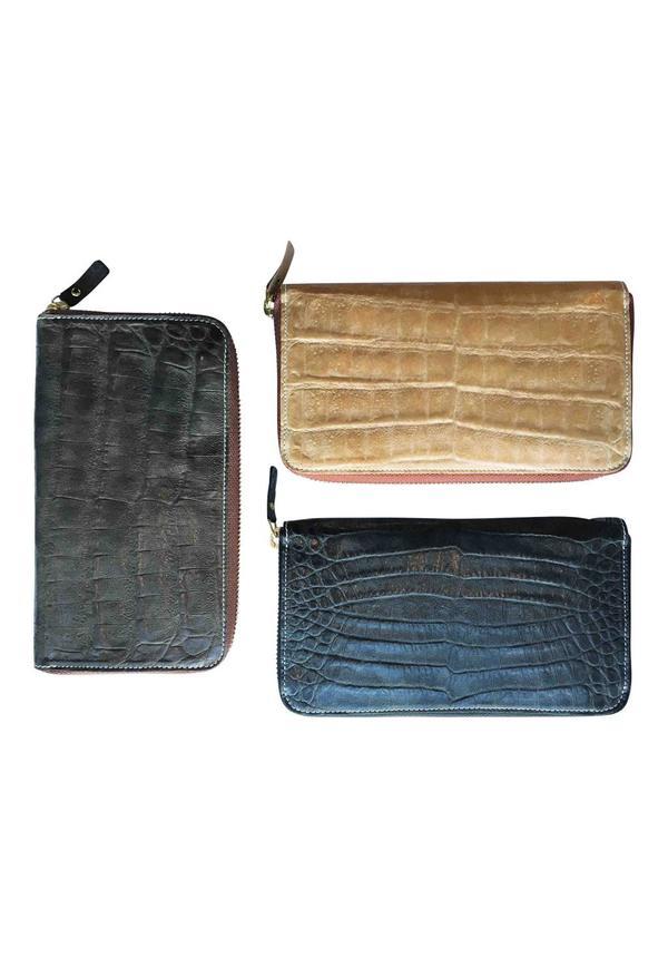 Vita Wallet Zip Crocco