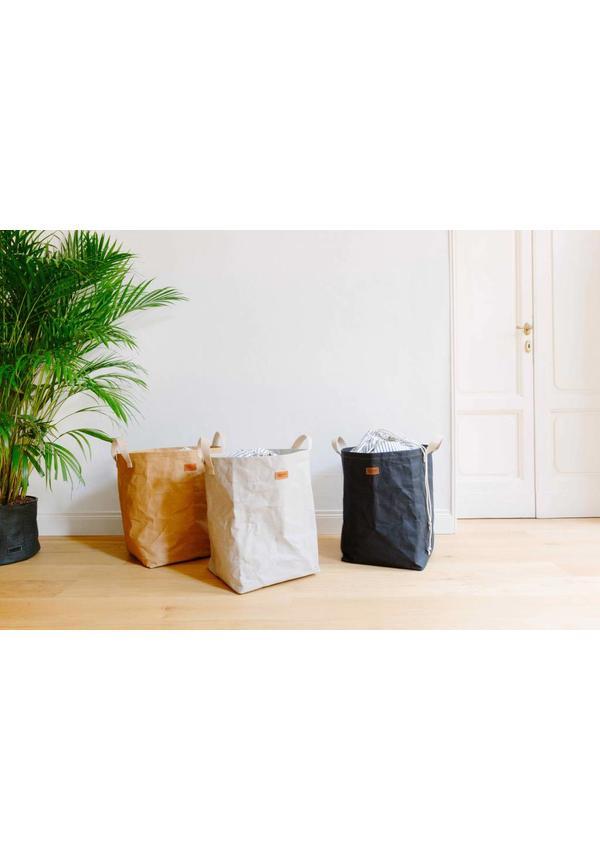 Laundry Bag Positano met gestreeept katoen