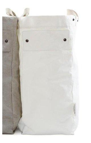 UASHMAMA® Sac à linge blanc