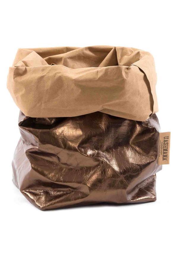 Paper Bag Natural / Bronze