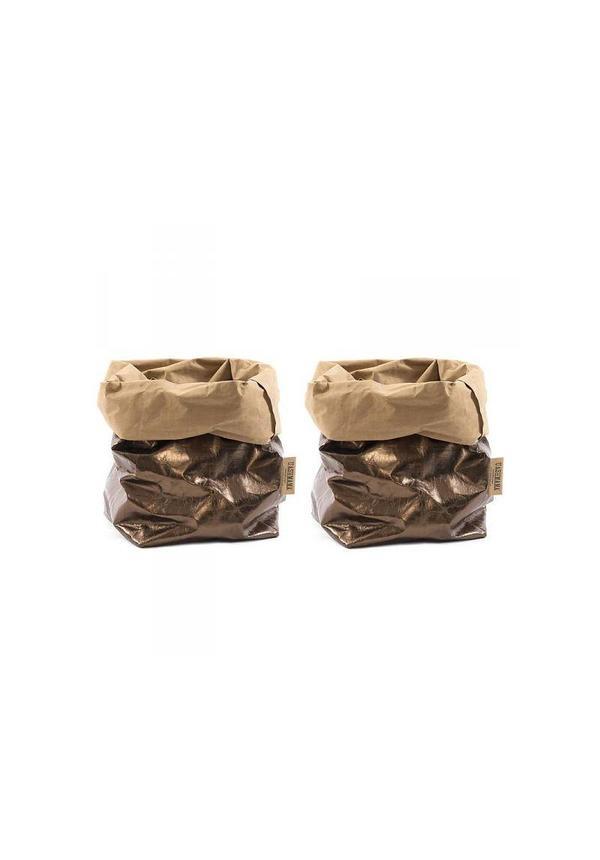Sac en papier Naturel / Bronze