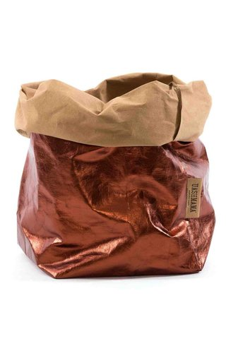 UASHMAMA® Sac de papier naturel / Cuivre