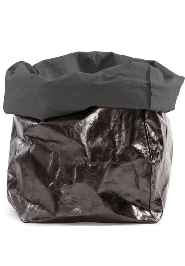 Paper Bag D. Gris / Peltro