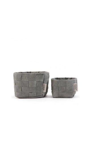 UASHMAMA® Petit sac en papier de couleur Intrecciato
