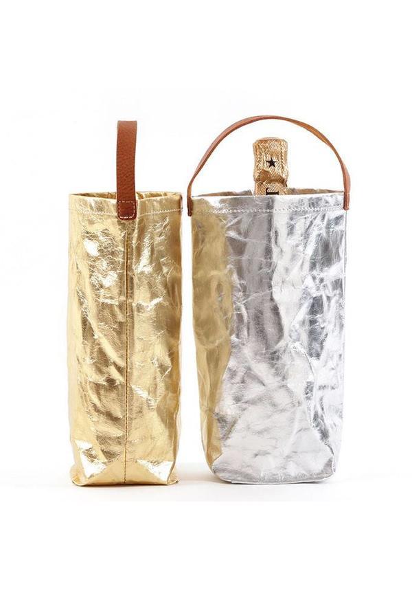 Wine Bag Metallic