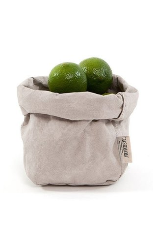 UASHMAMA® Paper Bag Gray