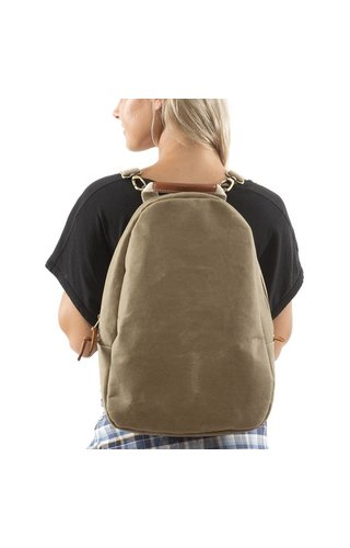 UASHMAMA® Memmo Backpack Olive