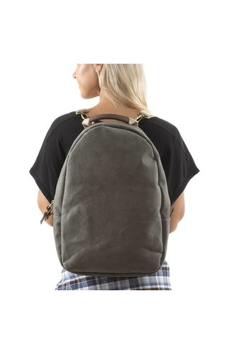 UASHMAMA® Memmo Backpack D. Gray