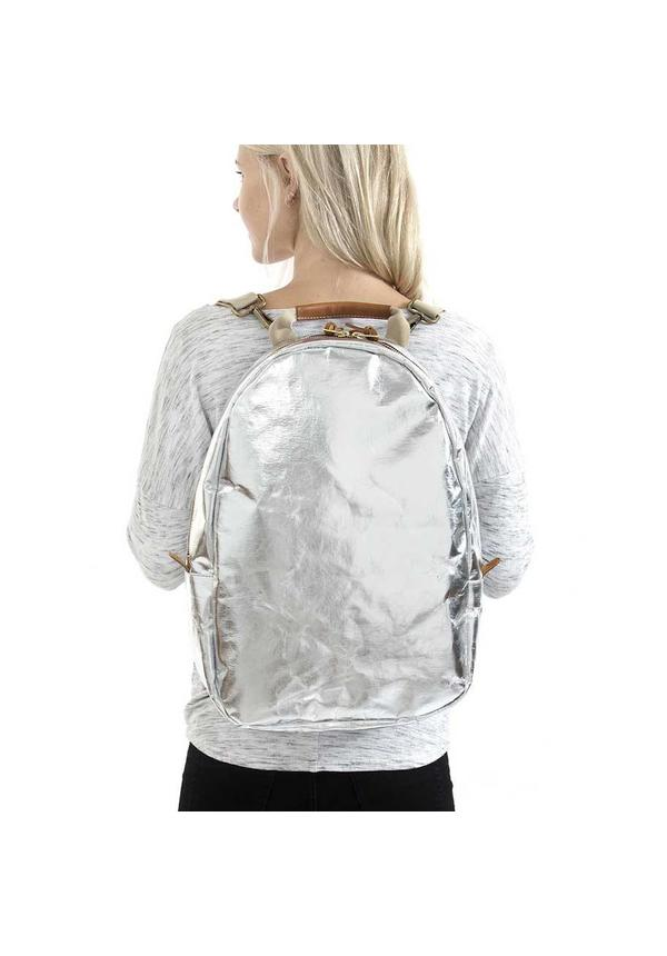 Memmo Backpack Silver