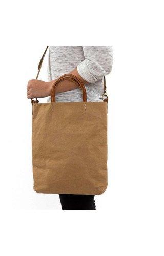 UASHMAMA® Otti Bag Cognac Lined