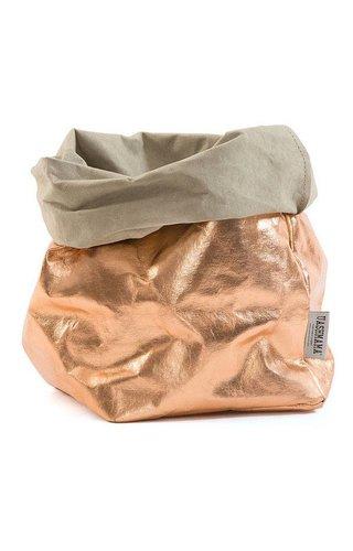 UASHMAMA® Paper Bag Rosé/Sabbia