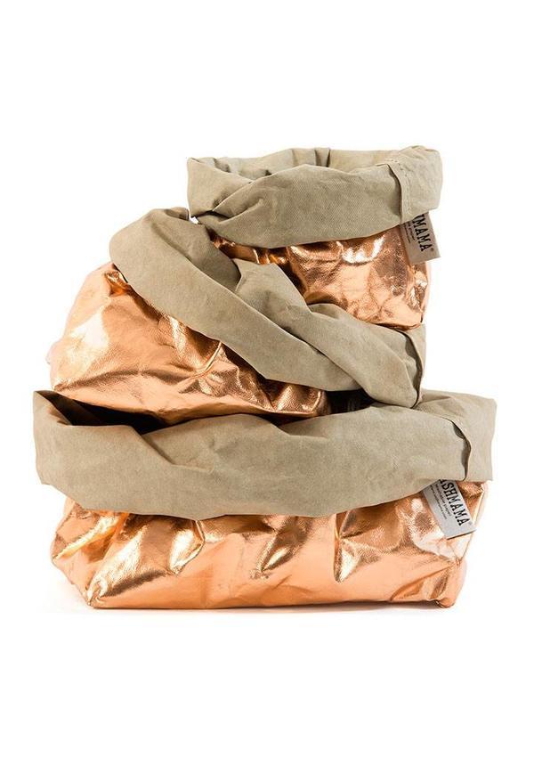 Paper Bag Rosé / Sabbia