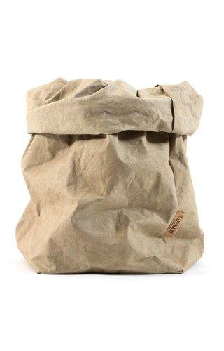 UASHMAMA® Paper Bag Sabbia