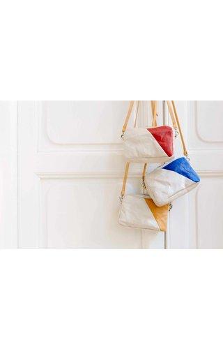 UASHMAMA® Mini Bag Spezzato Cachemire / Camel